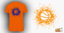 Ball Splash Orange