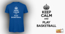Keep Calm Royal Blue